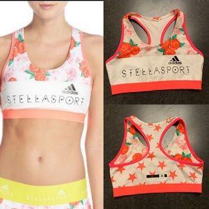 Stella McCartney adidas Stellasport floral bra